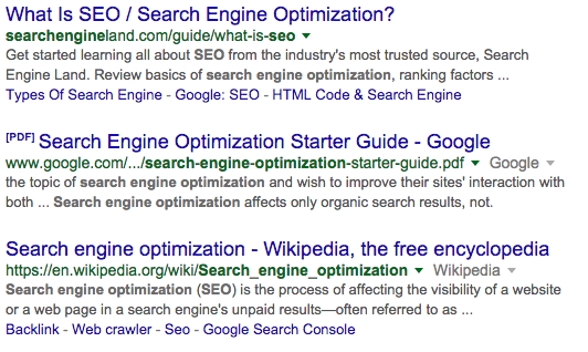 Increase Search Result CTR