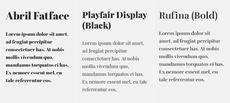 2015 Web Typography Trends to Try with Free Google Fonts