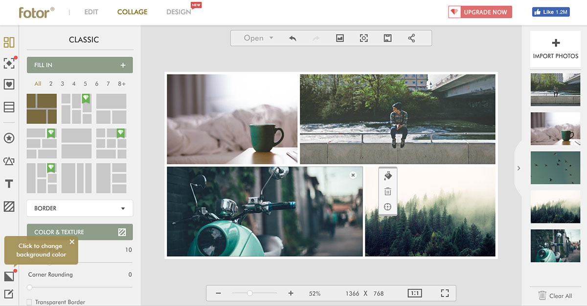 Fotor tools for web designers