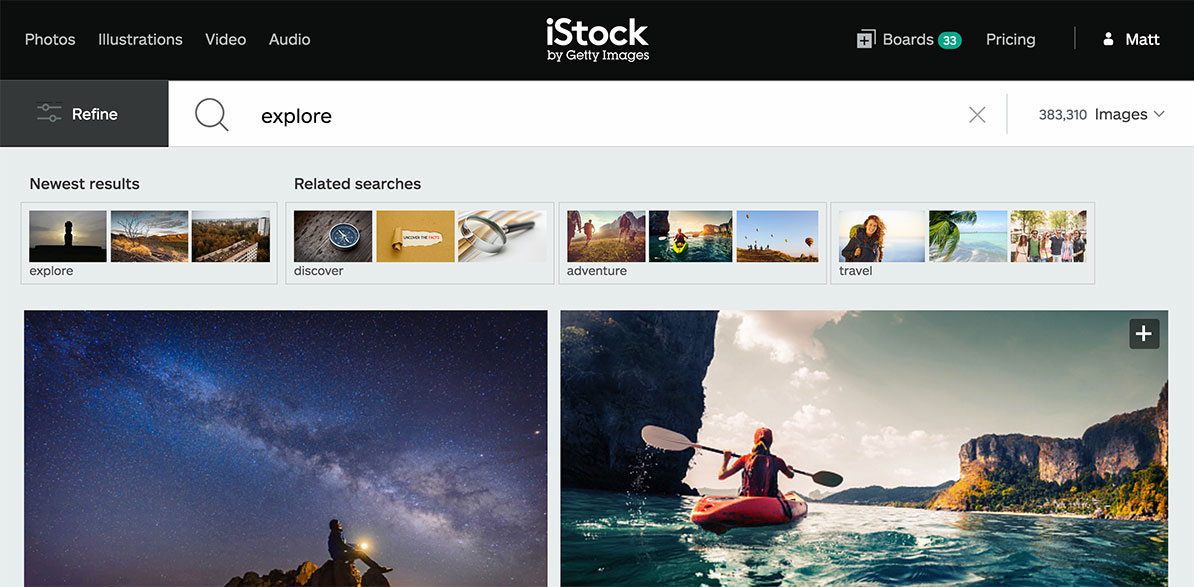 istock tools for web designers