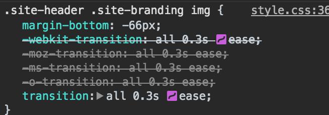 2017 wordpress trends Animation CSS code