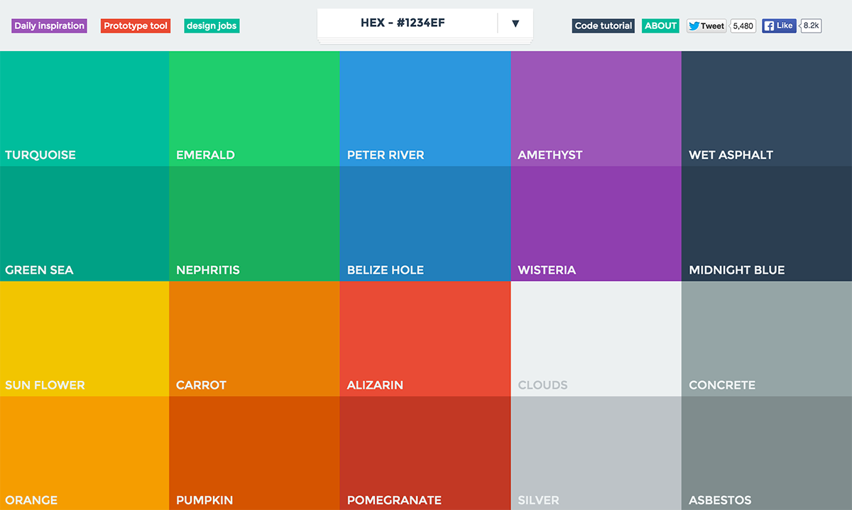 Understanding color schemes choosing colors for your for Web page background color codes