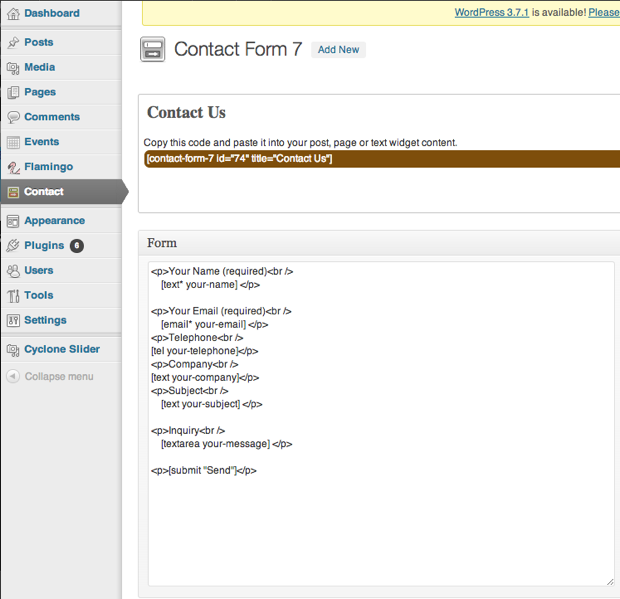 how to create contact form in wordpress without plugin