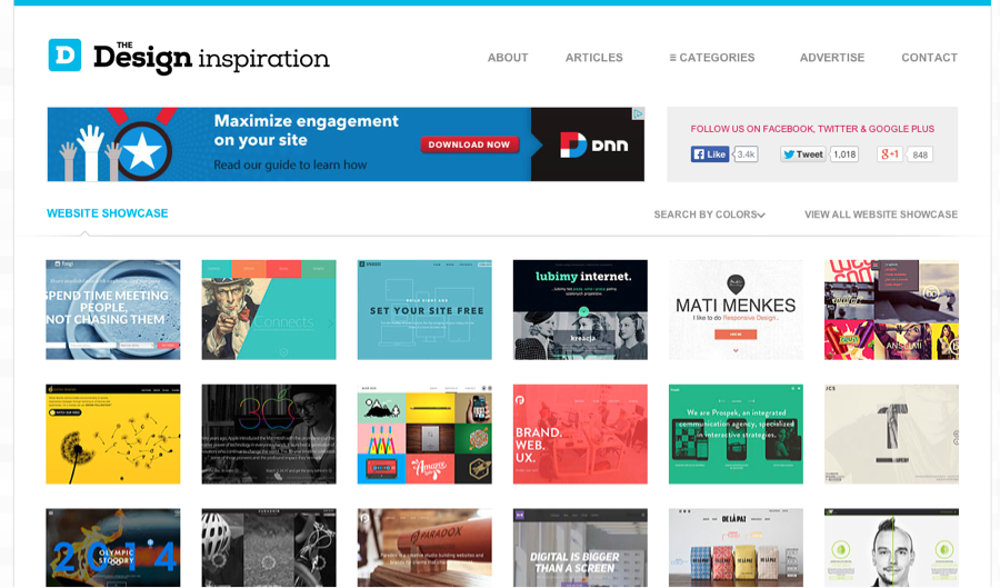design inspiration site - Blog Inspiration Design