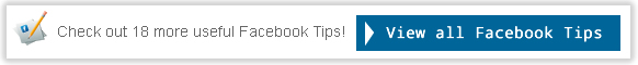 Facebook useful tips