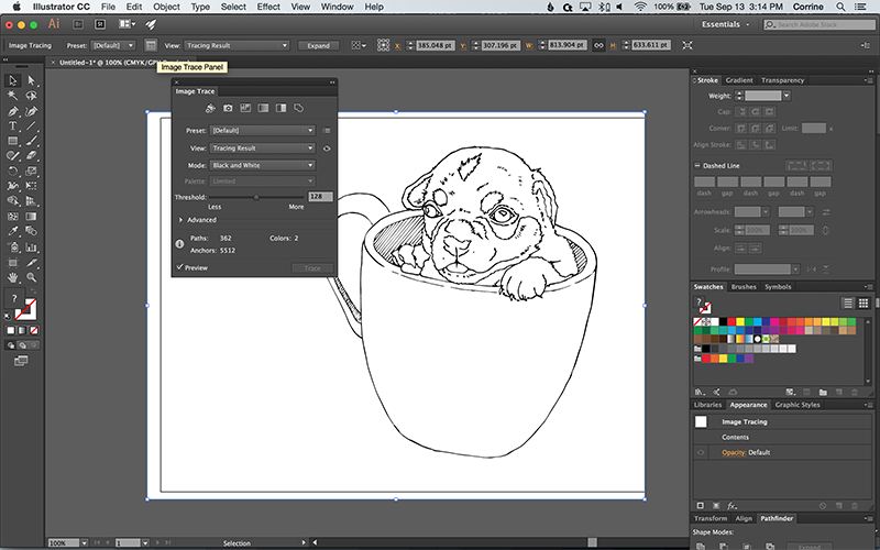 Vector Line Art Converter : How to turn a photo into vector line art with illustrator web
