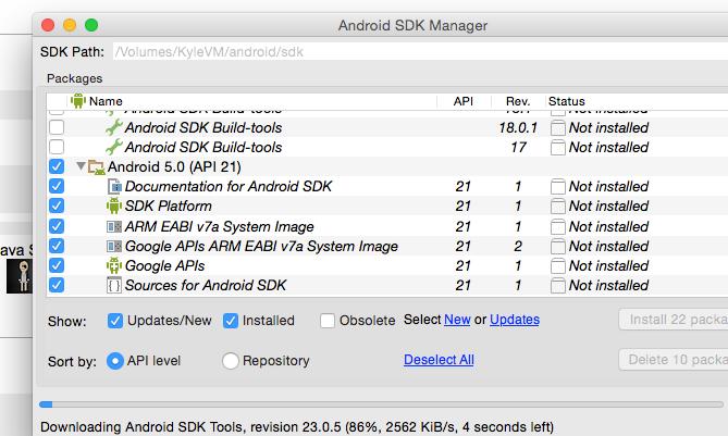 Setup Android Lollipop Emulator on OS X - Web Ascender