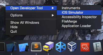 Setup iOS 8 Simulator on OS X - Web Ascender