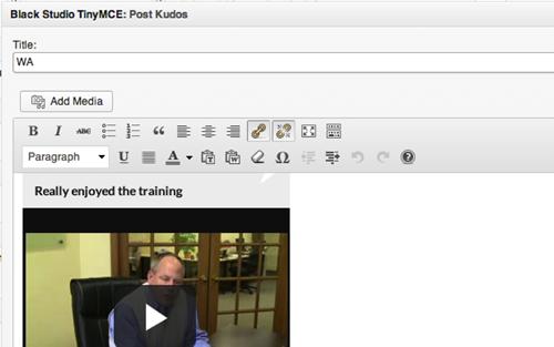 Wordpress Plugin: WYSIWYG Editor - Web Ascender