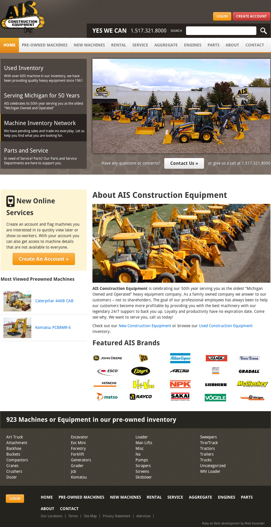 AIS Construction Equipment