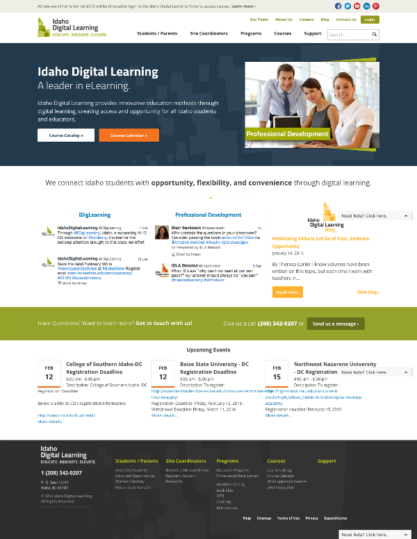 Idaho Digital Learning Academy
