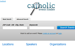 Catholic Event Finder