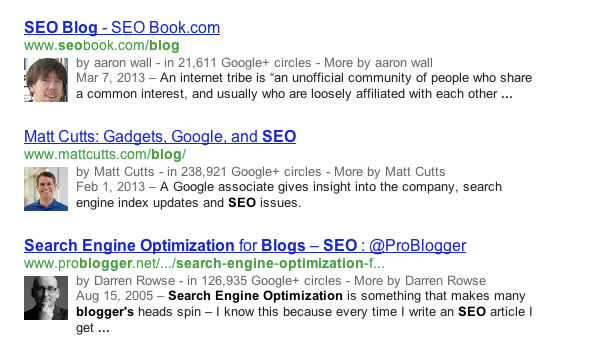 Adding Google+ Authorship to Your Website
