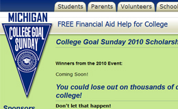MI College Goal Sunday