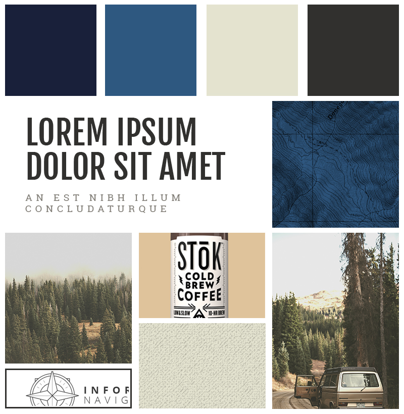 Earthy Rustic Mood Board For Your Next Web Project