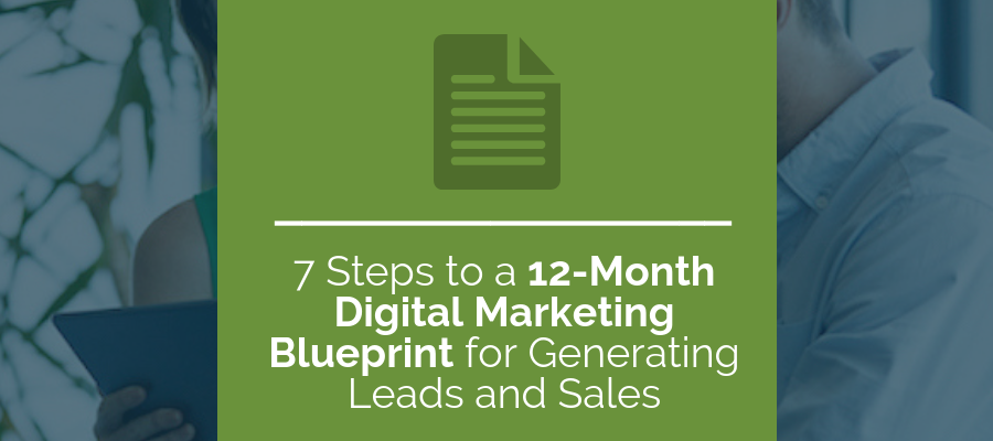 7 steps to a 12 month digital marketing blueprint for generating digital marketing blueprint malvernweather Images