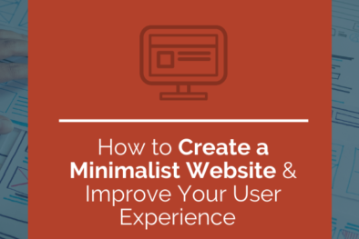 how to create a minimalist website