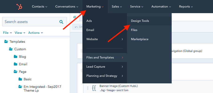 hubspot to wordpress migration export templates 1