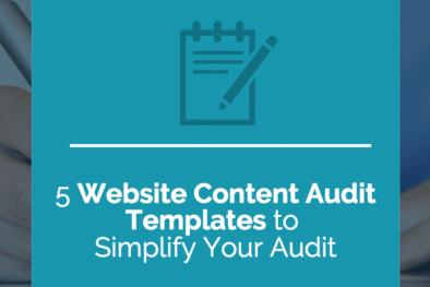 website content audit templates