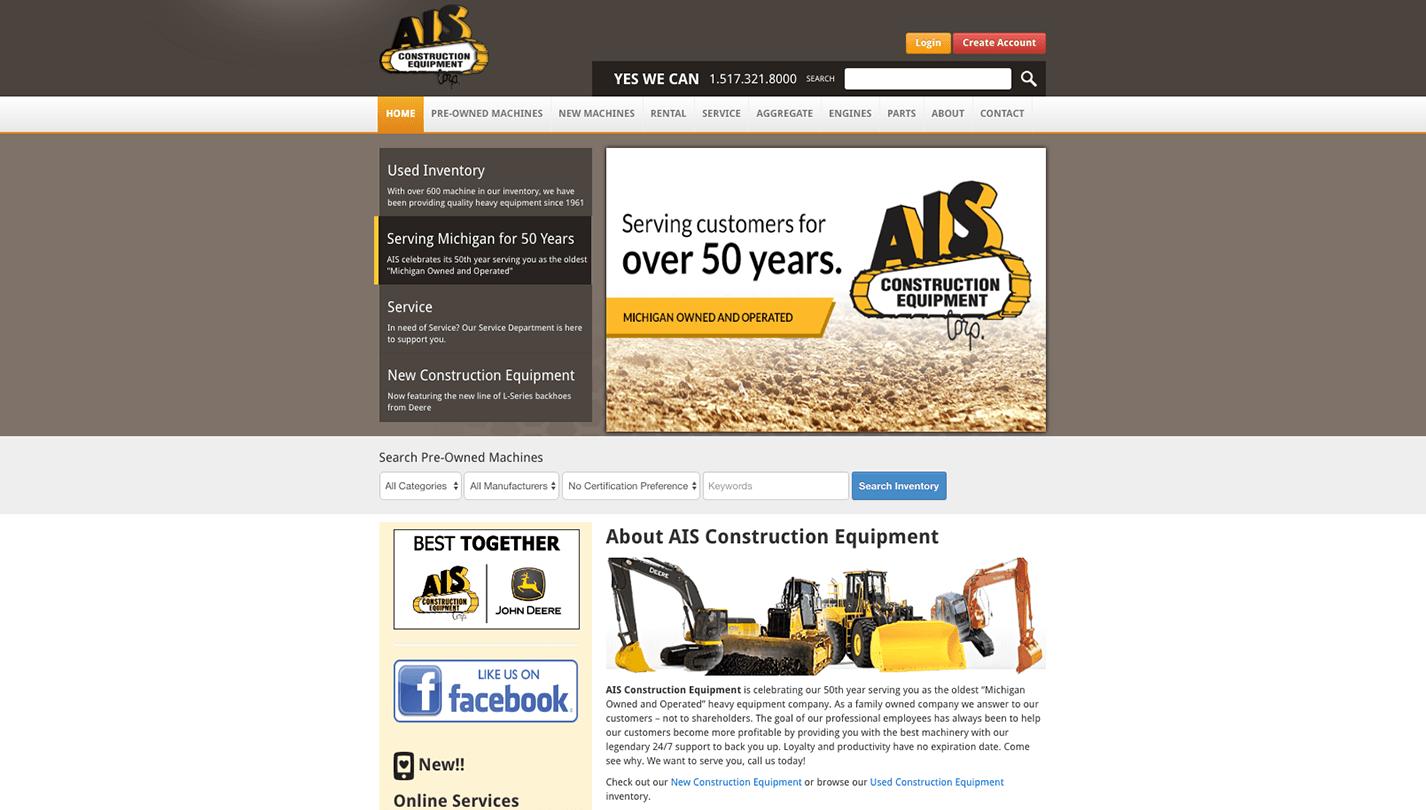 AIS Construction screenshot