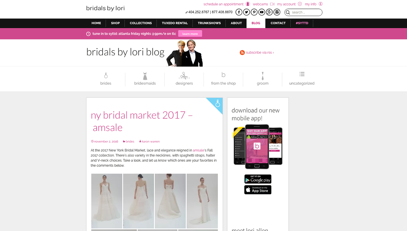 Bridals by Lori screenshot