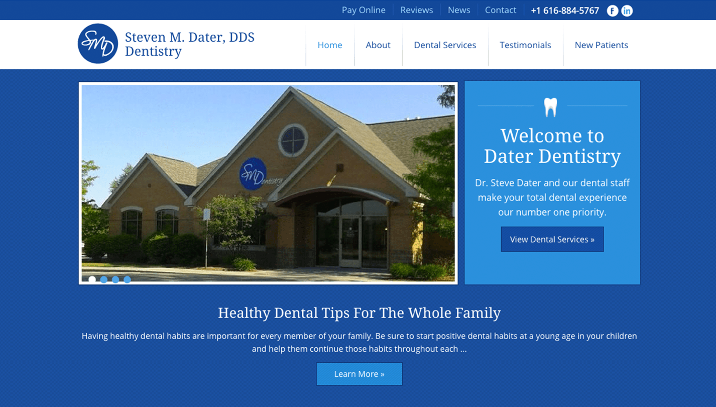Dater Dentistry screenshot