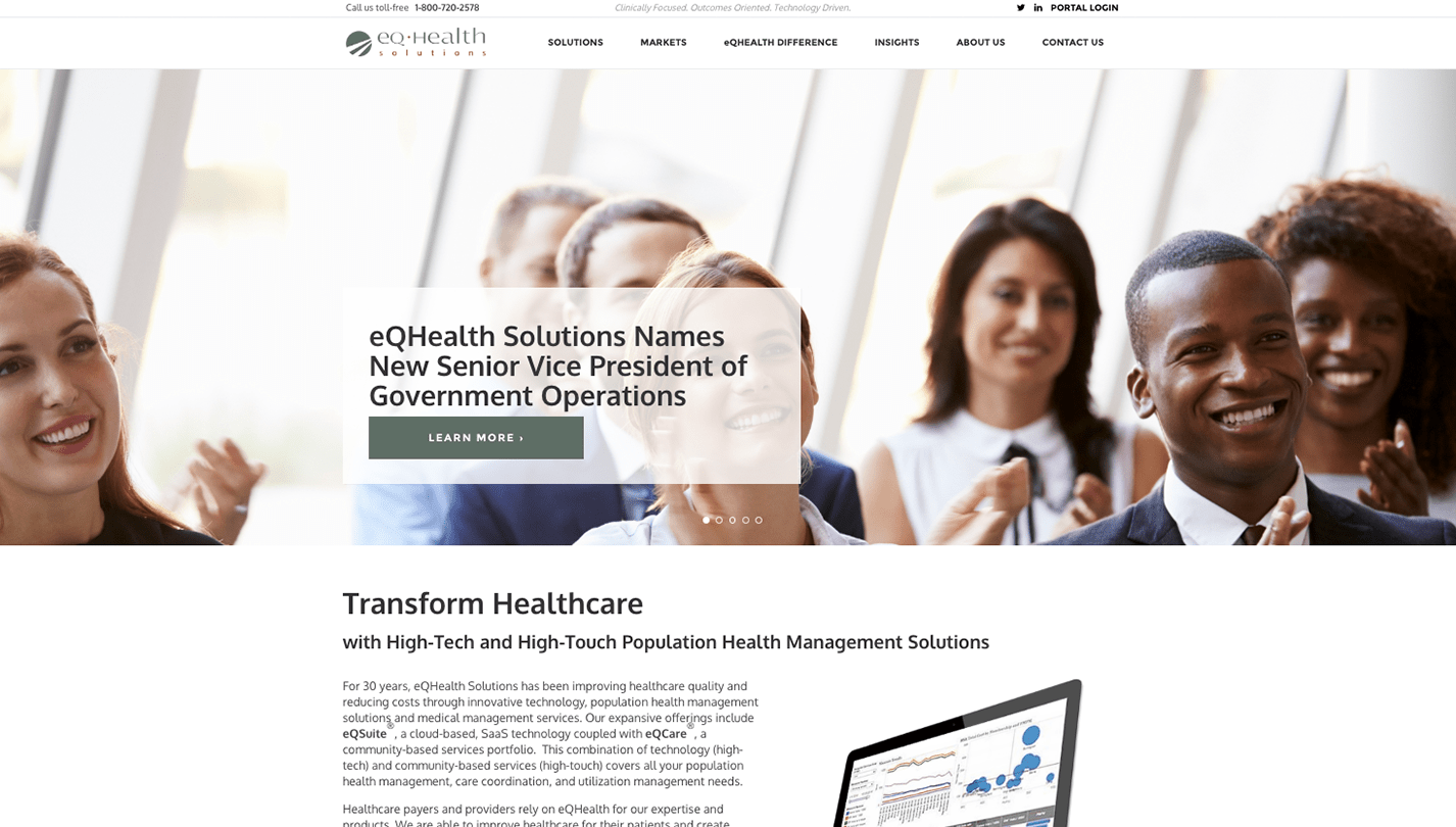 eQHealth Services screenshot