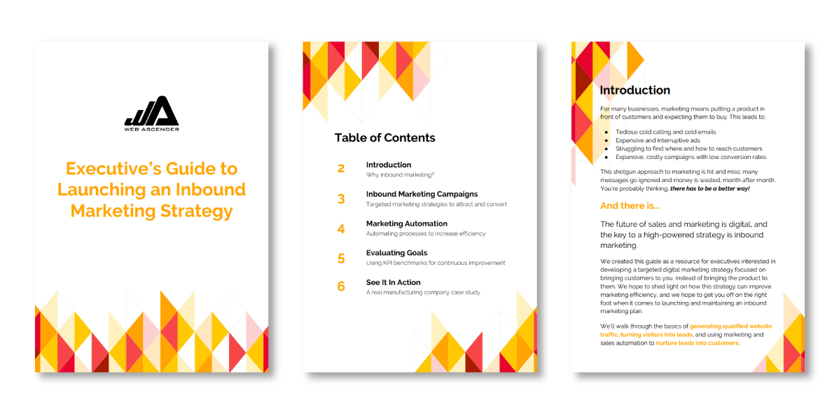 inbound marketing executive guide