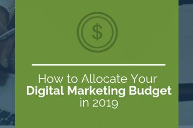 digital marketing budget in 2019