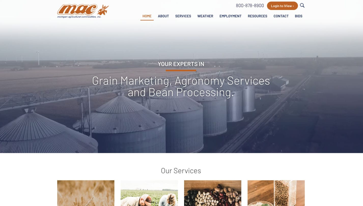 Michigan Agricultural Commodities