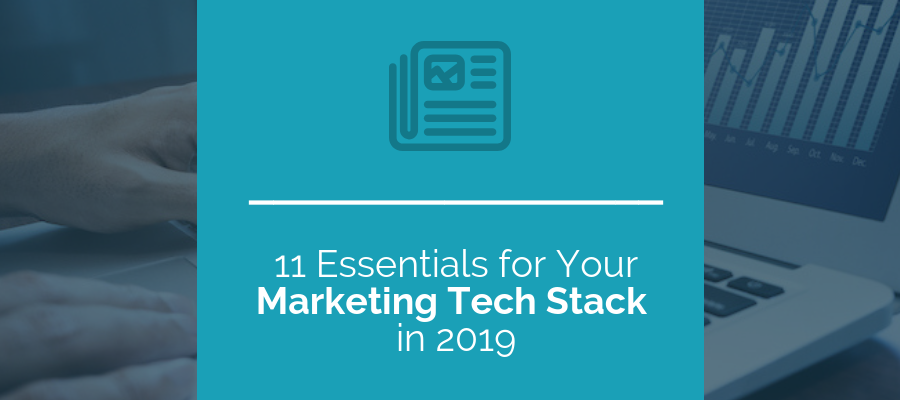 Marketing Tech Stack In 2019