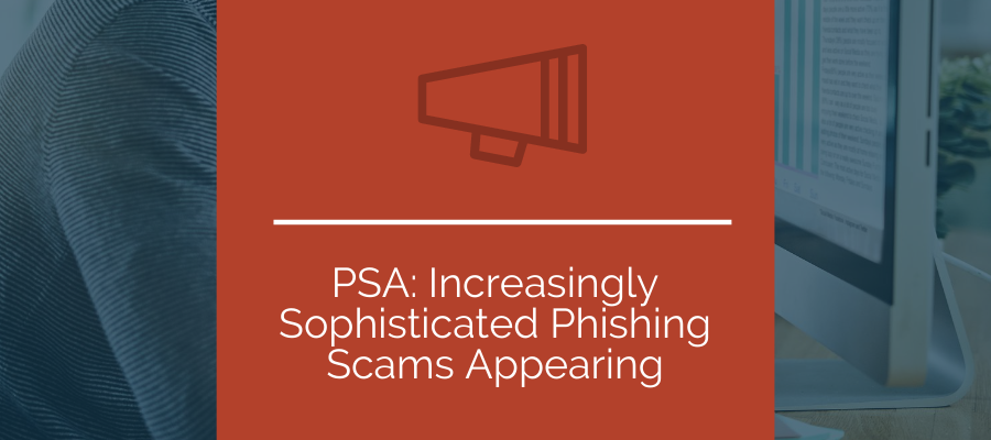 new phishing scams