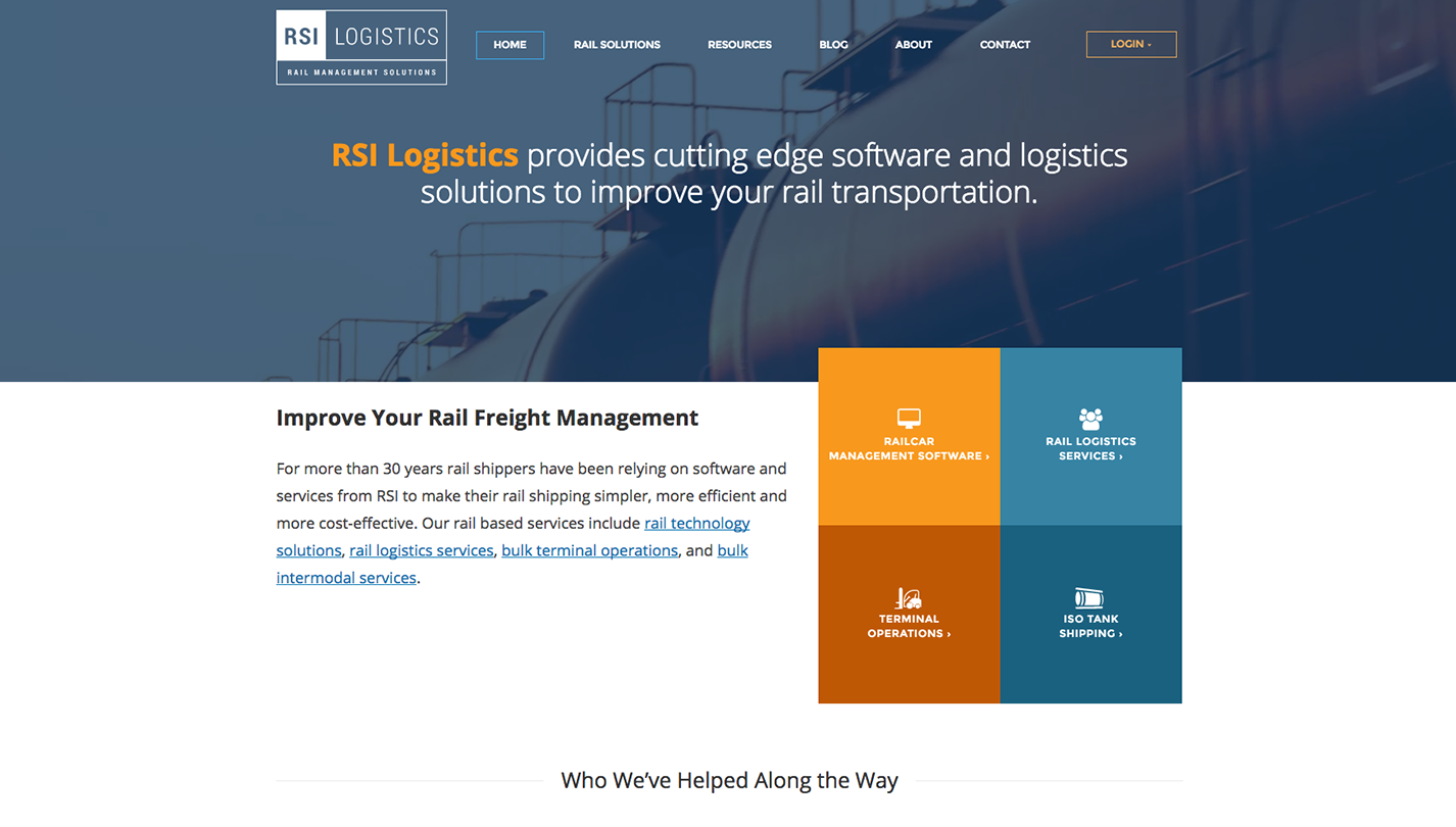 RSI Logistics screenshot