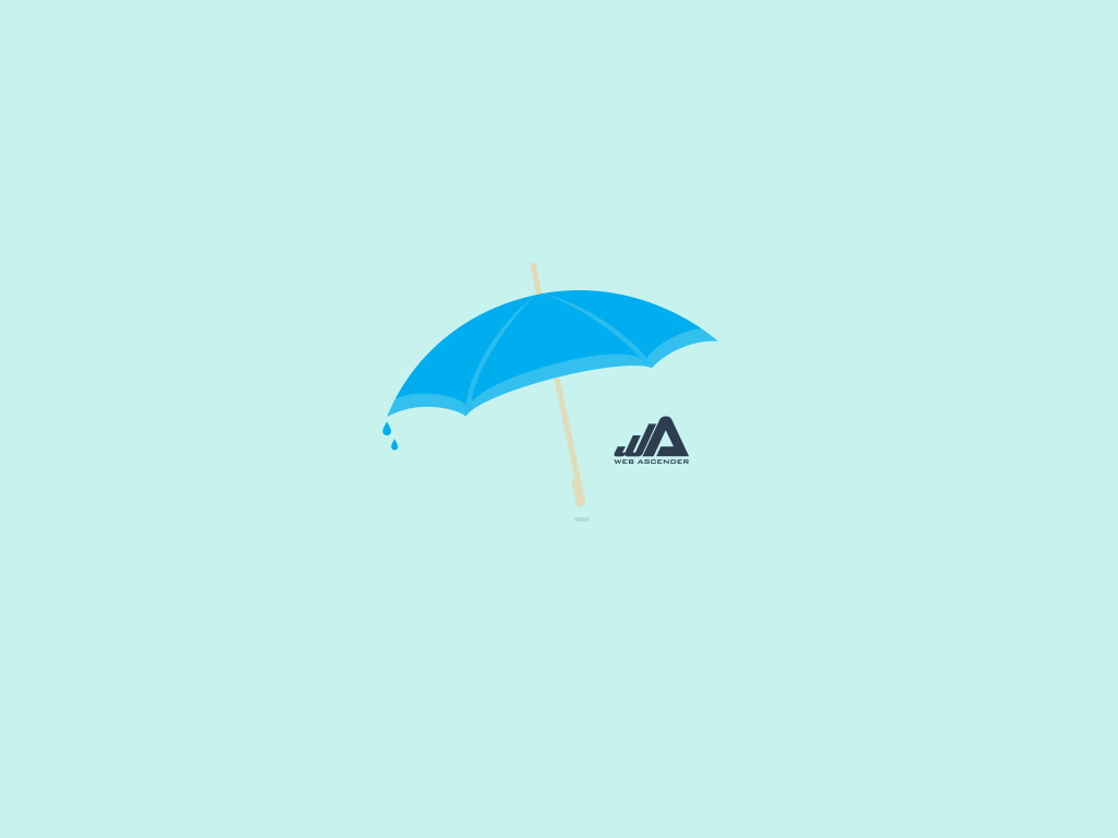 Umbrella wallpaper