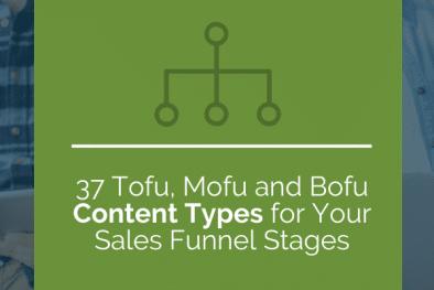 tofu mofu bofu content marketing