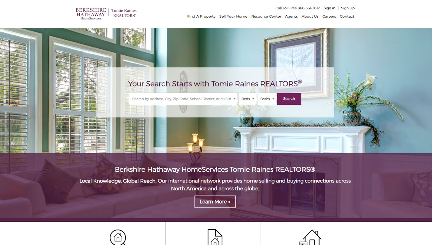 Berkshire Hathaway HomeServices Tomie Raines REALTORS