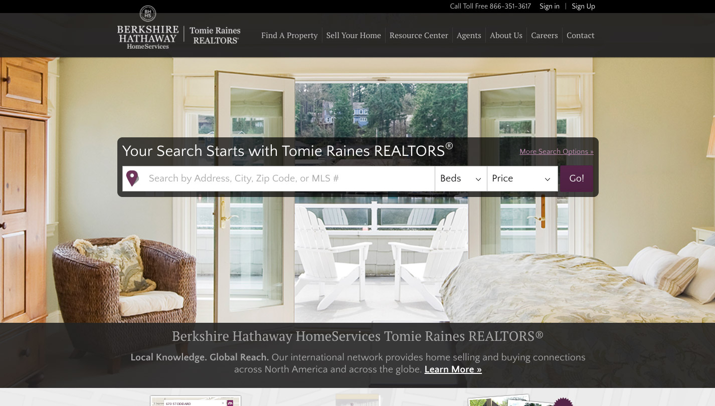 Berkshire Hathaway HomeServices Tomie Raines Realtors Web Ascender - Us zip code search by address