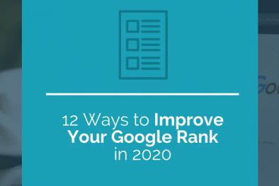 12 ways to improve your google rank
