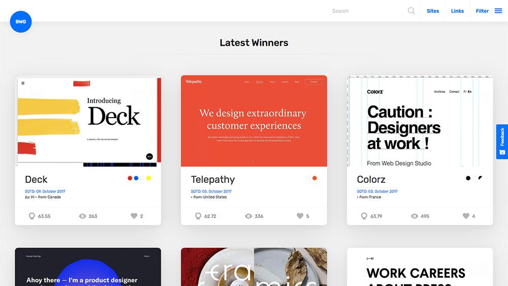 10 Places To Look For Website Design Inspiration Web Ascender