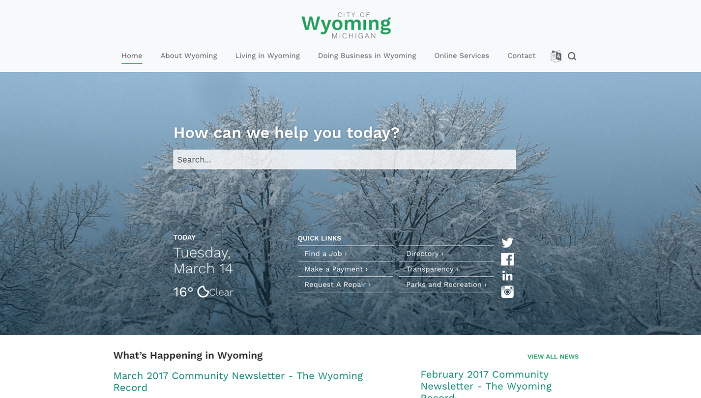 City of Wyoming